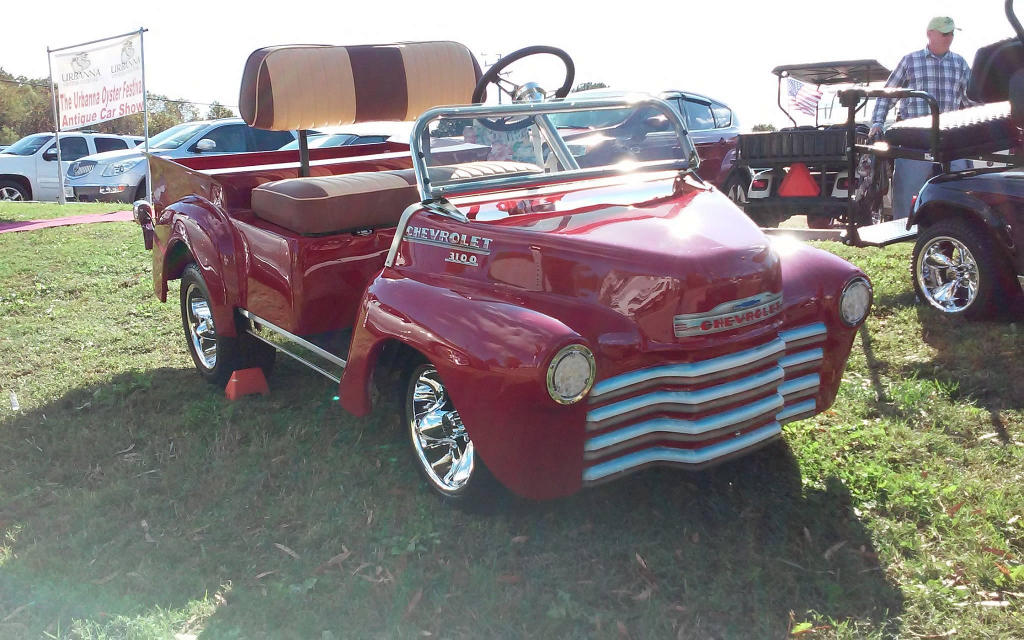 1950 Chevy Truck Golf Cart
