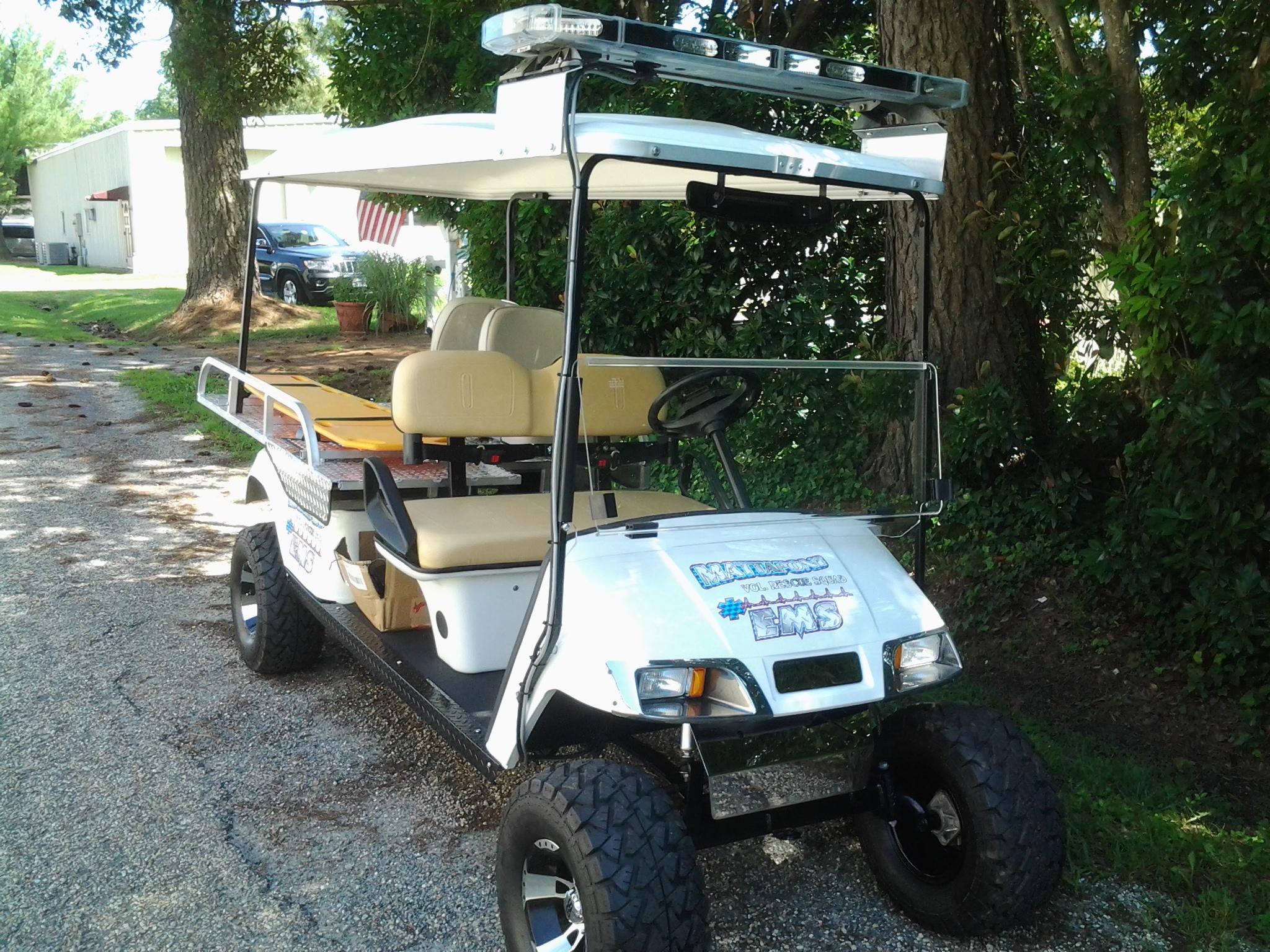 Ambulance Golf Cart
