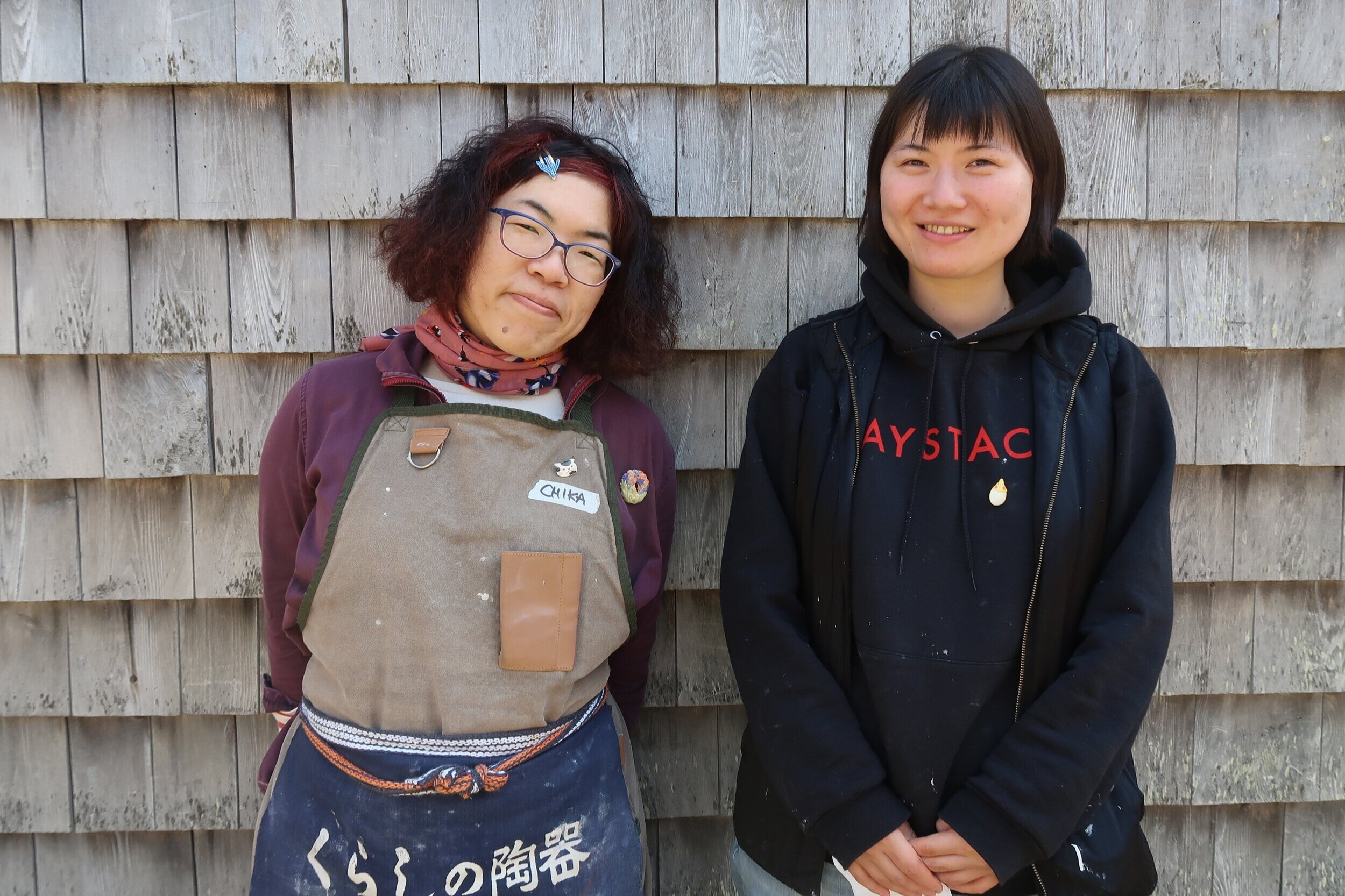 Rena Kudoh and Chika Shiraki