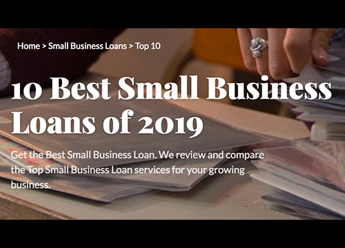 10 Best Small Business Loans of 2019 - Consumer AdvocateREAD ARTICLE