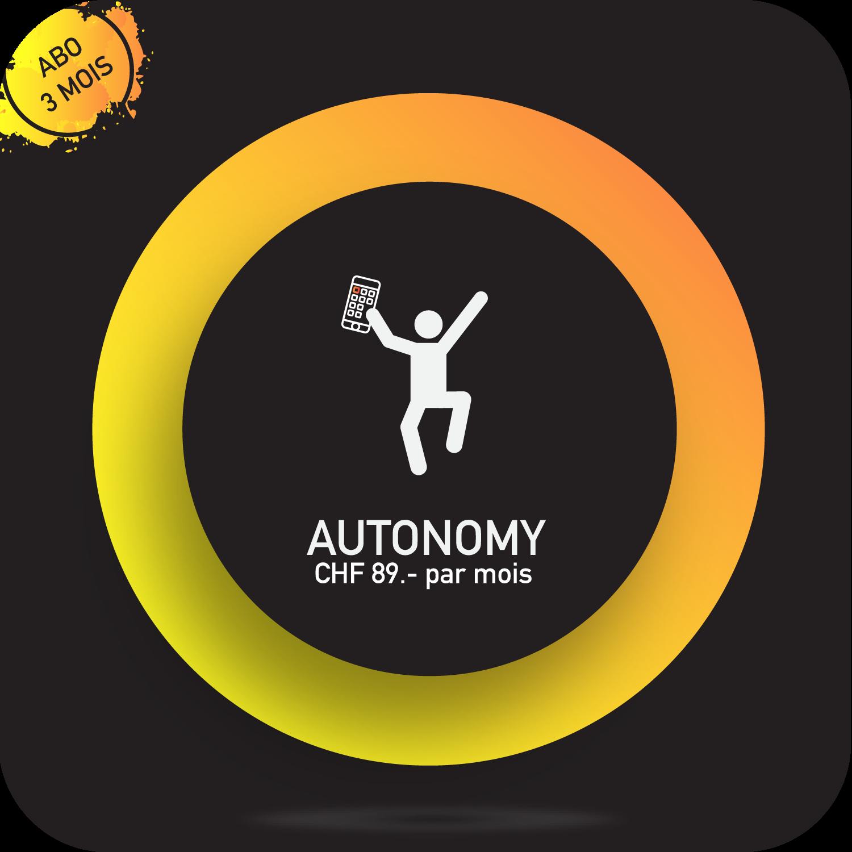 Une autonomie totale - Une abonnement de 3 mois en coaching à distance avec ton coach YD Motivator