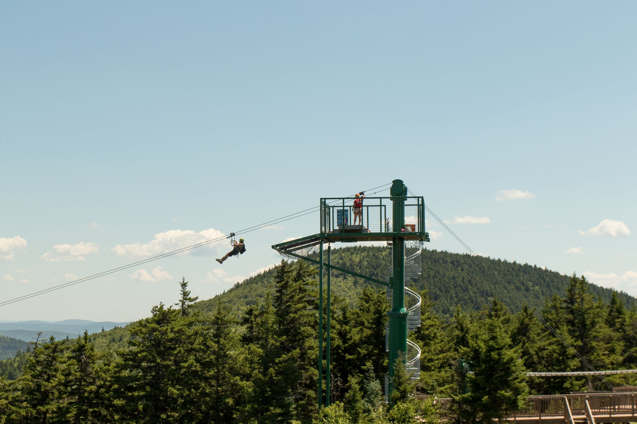 Zip Line Tours - Soar above the trees from peak to peak, and peak to base, traveling over 1.6 miles on one of the longest zip line canopy tours in the continental United States! It is fast, fun and exhilarating. This 2+ hour adventure is for thrill seekers and nature lovers alike.