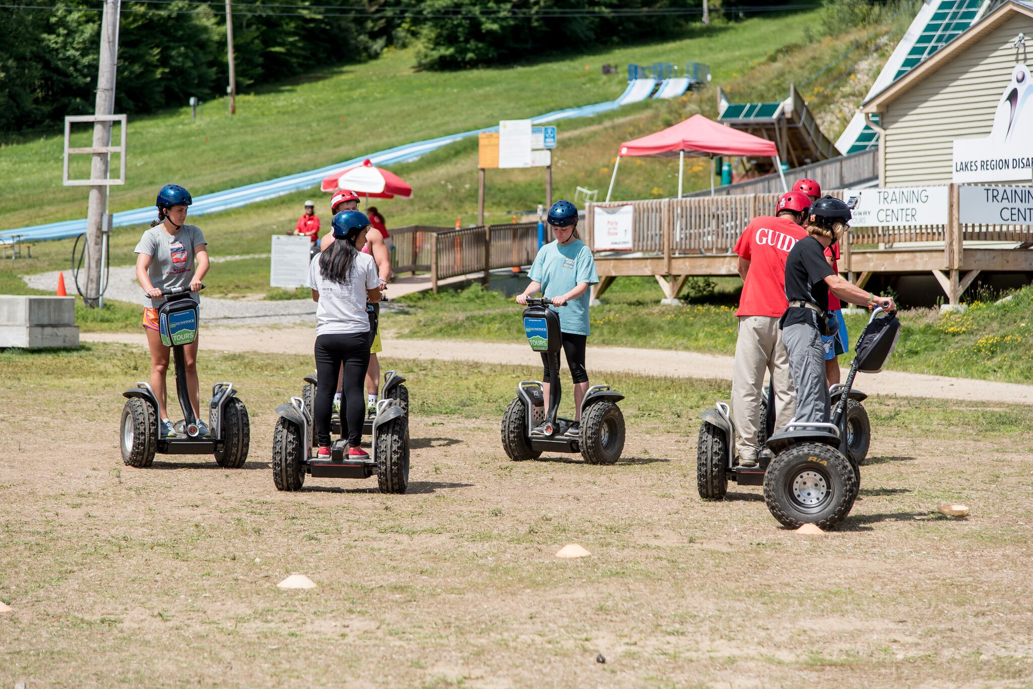 Off-Road Segway Tours - Gunstock Mountain Adventure Park has the best Authorized Off-Road Segway Tour in the Northeast, in fact they were awarded the CEO's Choice Award for best quality tour. Explore the trails of Gunstock in an entirely new way – on board an Off-Road Segway X2.