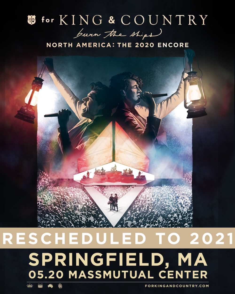 2021+Springfield+IG - Zach Williams America Gardens Theatre September 7