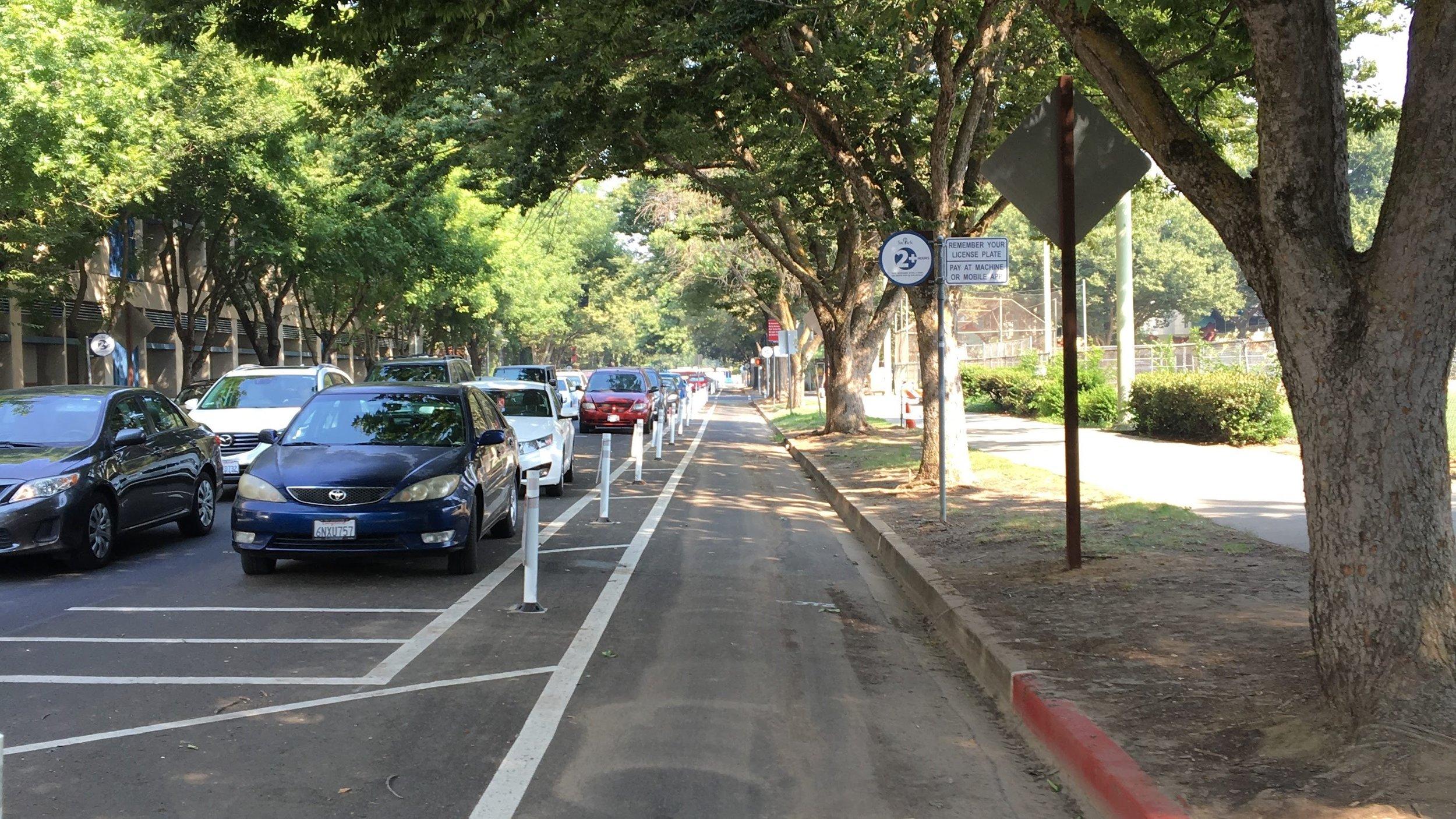 Alternative 1.A Precedent Example - P Street, Sacramento, CA