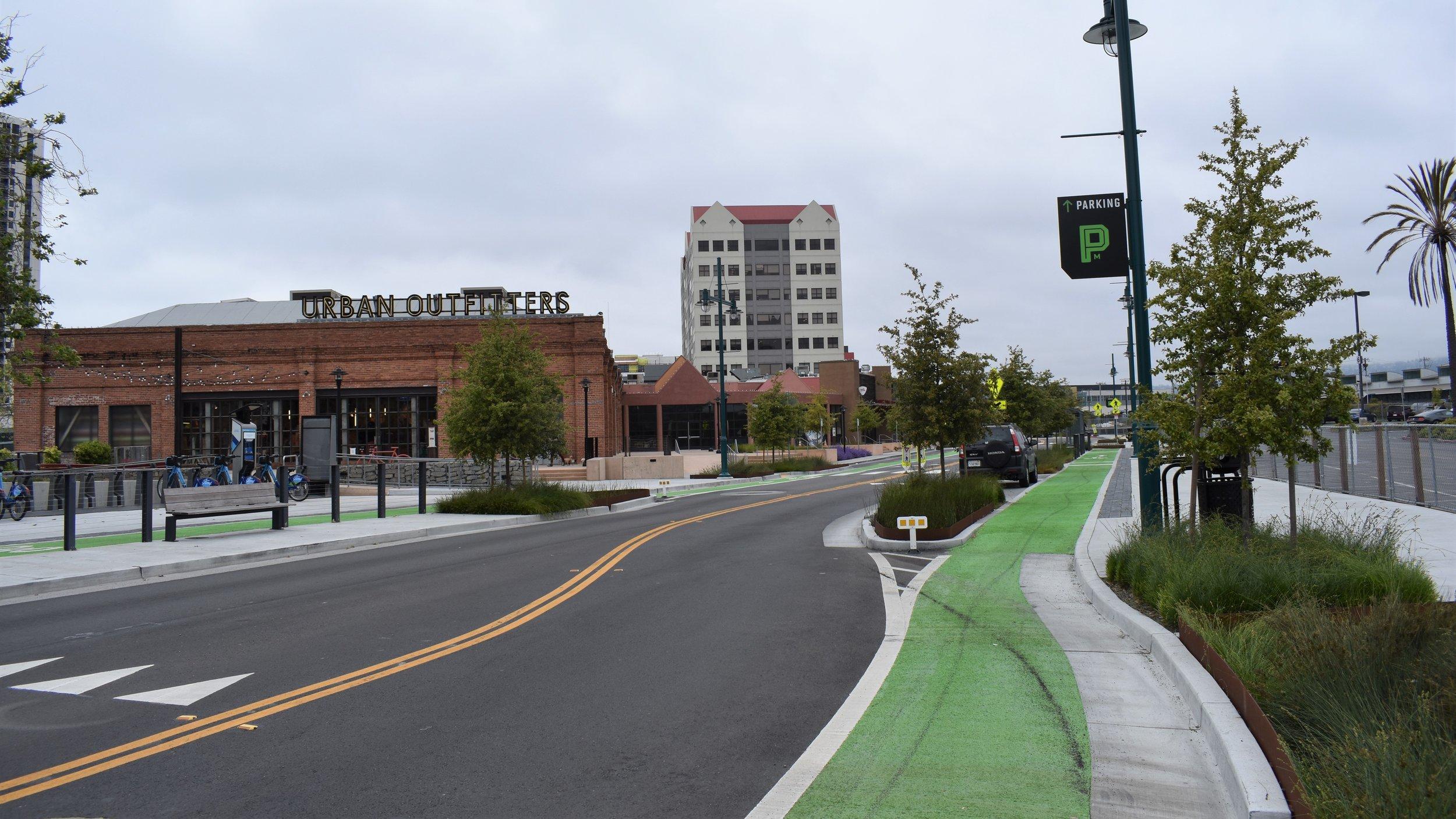 Alternative 1.B Precedent Example - Shellmound St, Emeryville, CA