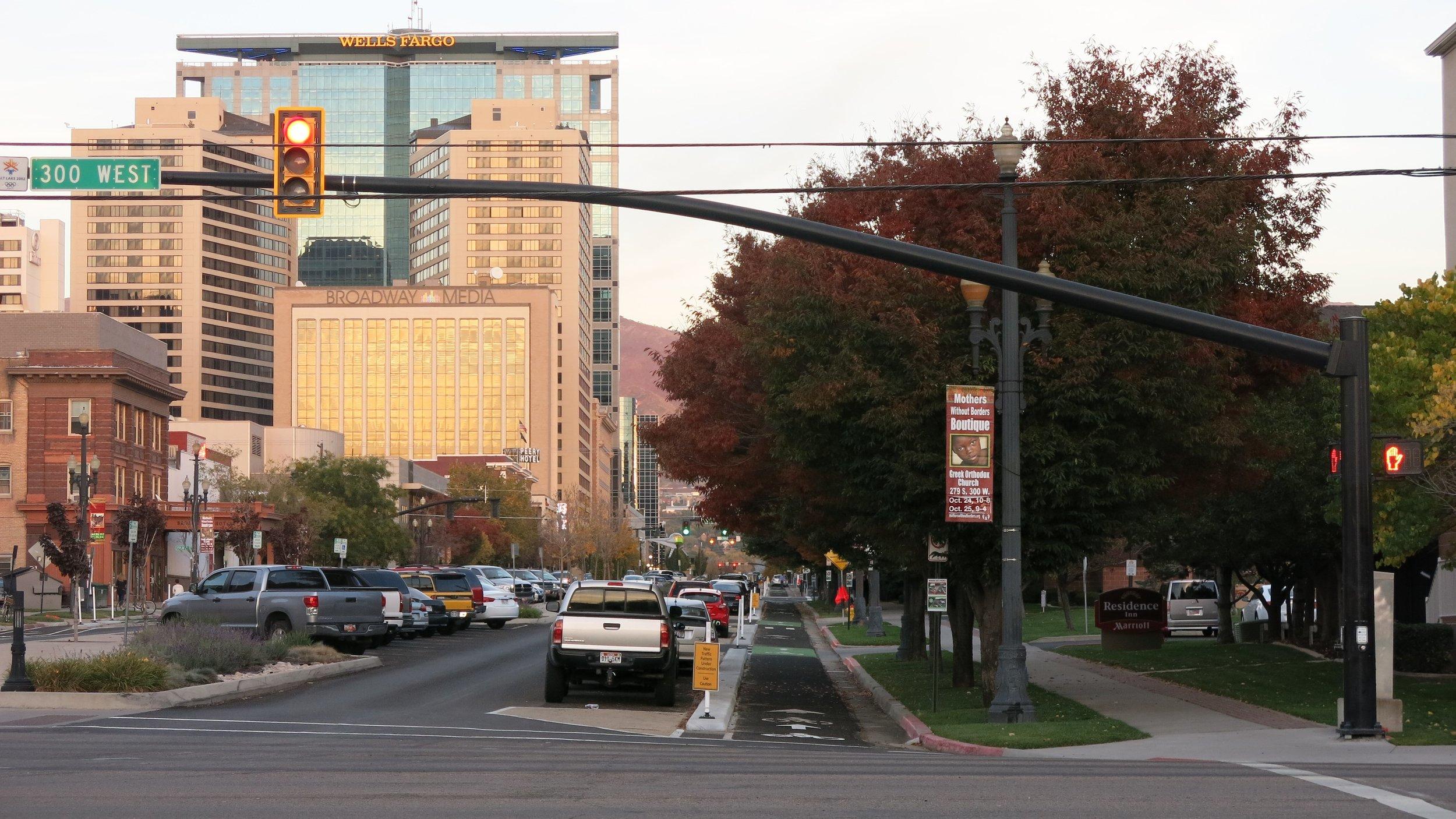 Alternative 3.B West of Hopyard Precedent Example - Salt Lake City, UT