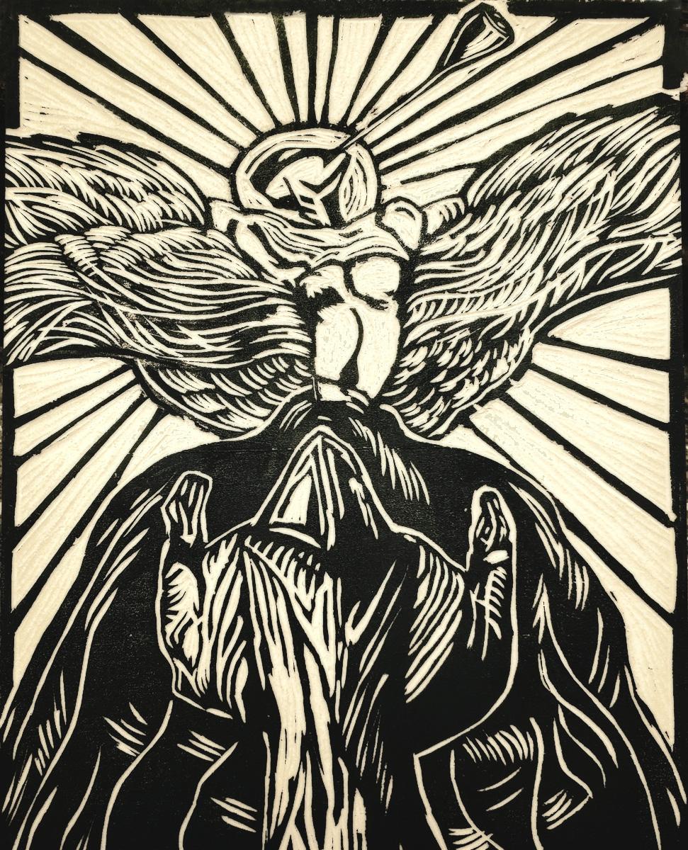Find Thomas' Prayer of Christian Rosenkeutz and his other prints in  Thomas van der Krogt Prints.