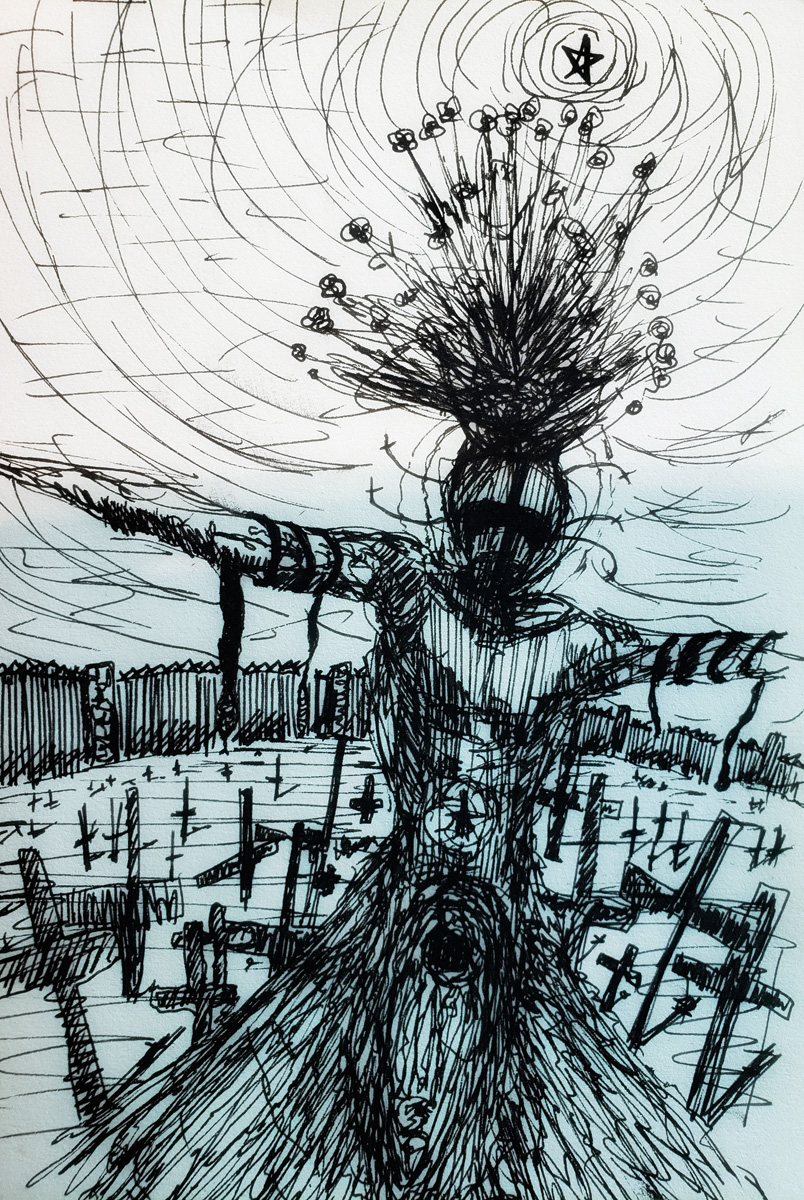 The Scarecrow of the Cemetery