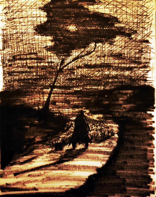 Self Portrait as Rembrandt Waking through the Apocalypse