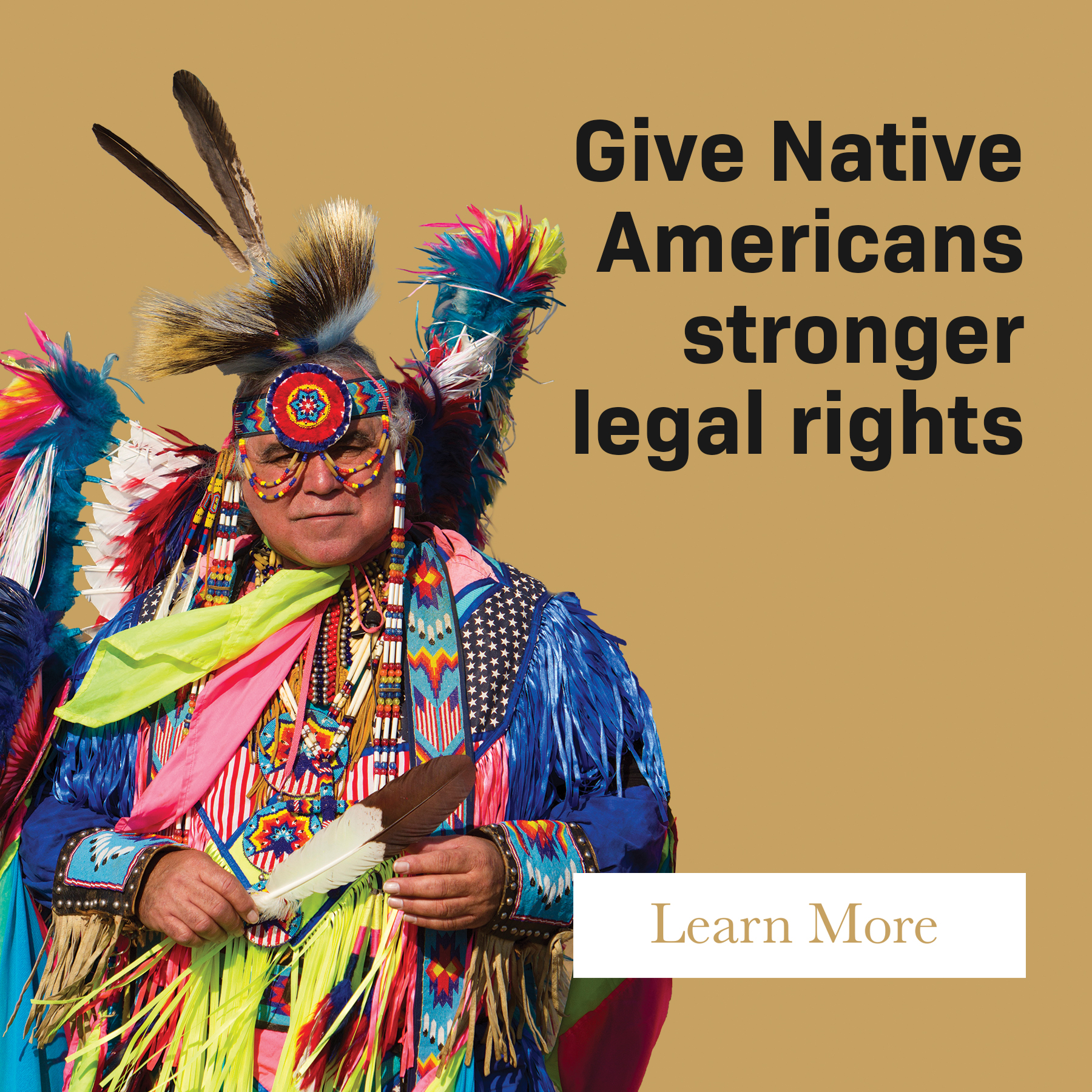 Give Native Americans stronger legal rights