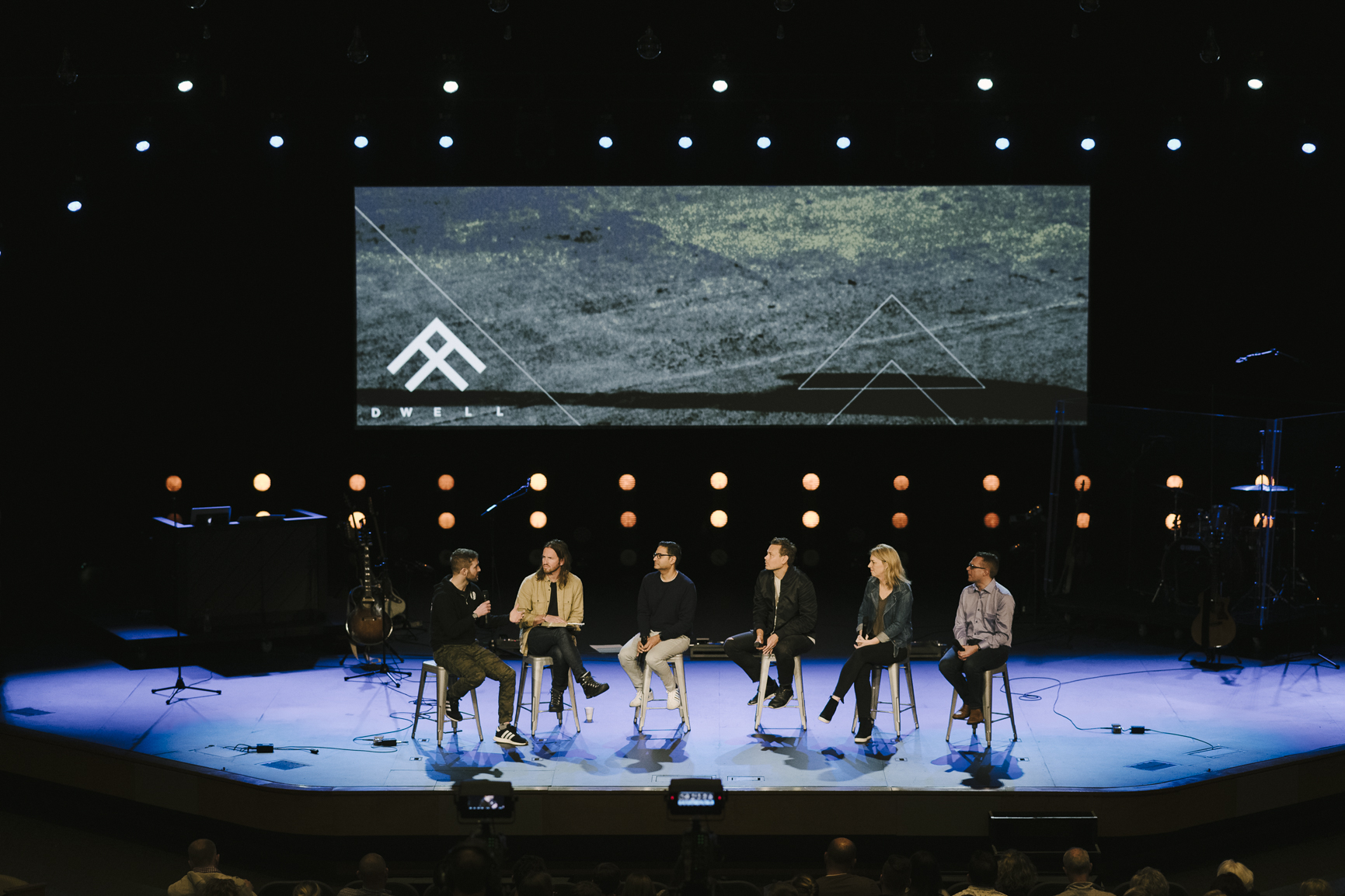 Dwell speakers and co-founders in onstage panel discussion, Dwell Conference 2019.