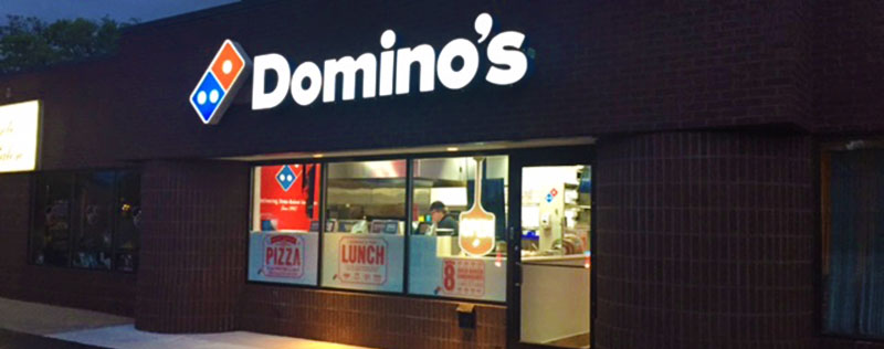 Case Study: Domino's - A CCA grant from the Façade Improvement Program helped Domino's create a storefront that customers love.