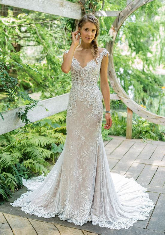 Lillian west - Lillian West is a boho lover's dream. These gowns are laid-back and chic, and effortlessly sensuous for the free spirited bride. Lillian West wedding dresses range in price from $1,048-$1,898.