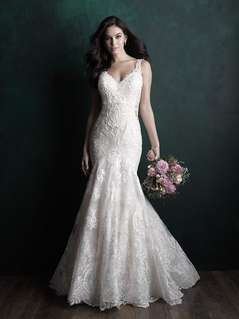 Allure couture - Allure Couture brings the drama with bold lace and lots of bling! Allure Couture is part of our couture collection with wedding dresses ranging in price from $1,698-$2,798.