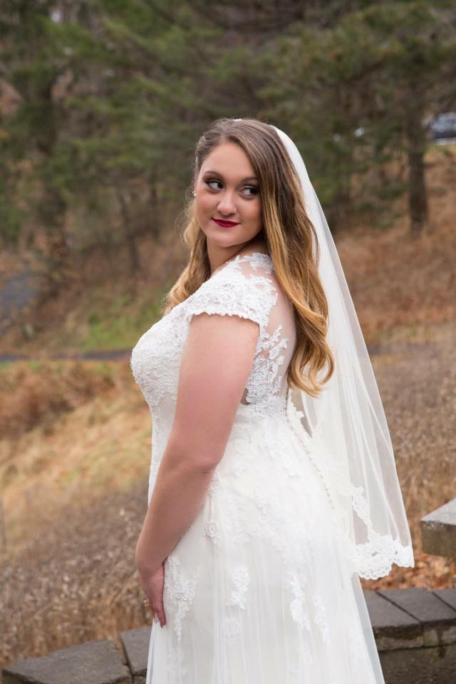 """Francesca 11/25/17 Venue: Durand Eastman Clubhouse Photographer:    Ross Weddings    """"Cassandra was a delight to work with and picked out my perfect dress. Highly recommend Heart to Heart to anyone who wants a truly pleasant dress shopping experience."""""""