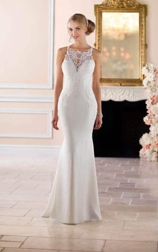 """Stella york - With fashion-forward detailing and quality construction at competitive prices, the Stella York collection offers glamorous, on-trend styles inspired by today's brides. Every bride can say """"I do"""" with Stella York! Our Stella York wedding dresses range in price from $799-$1,599."""