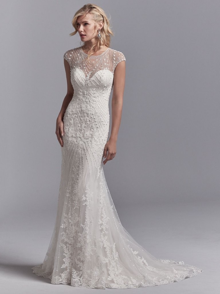 Sottero & Midgley - Sottero & Midgley turns up the drama with luxe fabrics, glamorous embellishments, and one-of-a-kind details. Sottero & Midgley is part of our couture collection with prices ranging from $1,099-$2,399.