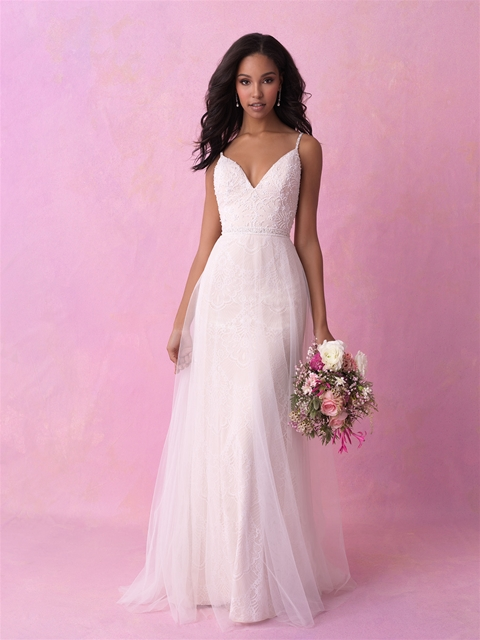 Allure romance - Allure Romance wedding dresses are soft and timeless and great for a bride on a budget! Allure Romance wedding dresses range in price from $898-$1,498.