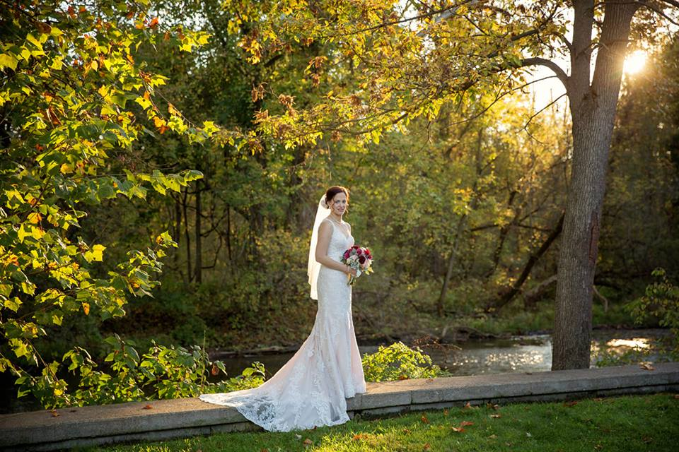 """Becca 10/14/18 Venue:    Toganenwood Estate Barn Weddings / Events Center    Photographer:    Marciniak Photography    """"I was married on 10/14/18 wearing my gorgeous Miss Stella York gown! Everyone at Heart to Heart Bridal was fantastic from start to finish ❤️. I would recommend them to anyone."""""""