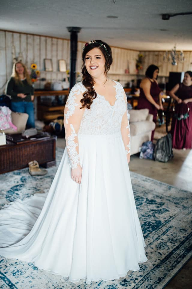 """Laura 10/13/18 Photographer:    Craig Griffin Photography     """" Emily at Heart to Heart made me feel so confident in every dress I tried on. Thank you so much for everything!"""""""