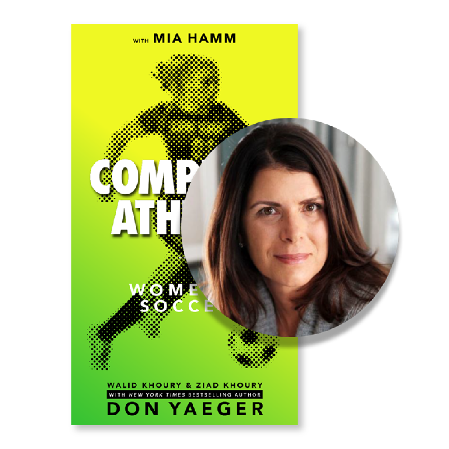 Women's Soccer - In Complete Athlete: Women's Soccer, get tips from the pros like Mia Hamm and 11-time NYT Bestseller Don Yaeger. This book highlights the idea that success is not determined solely by one's natural ability; it is also influenced by attitude and behavior, as well as how an athlete treats herself and others, both on and off the field of play.