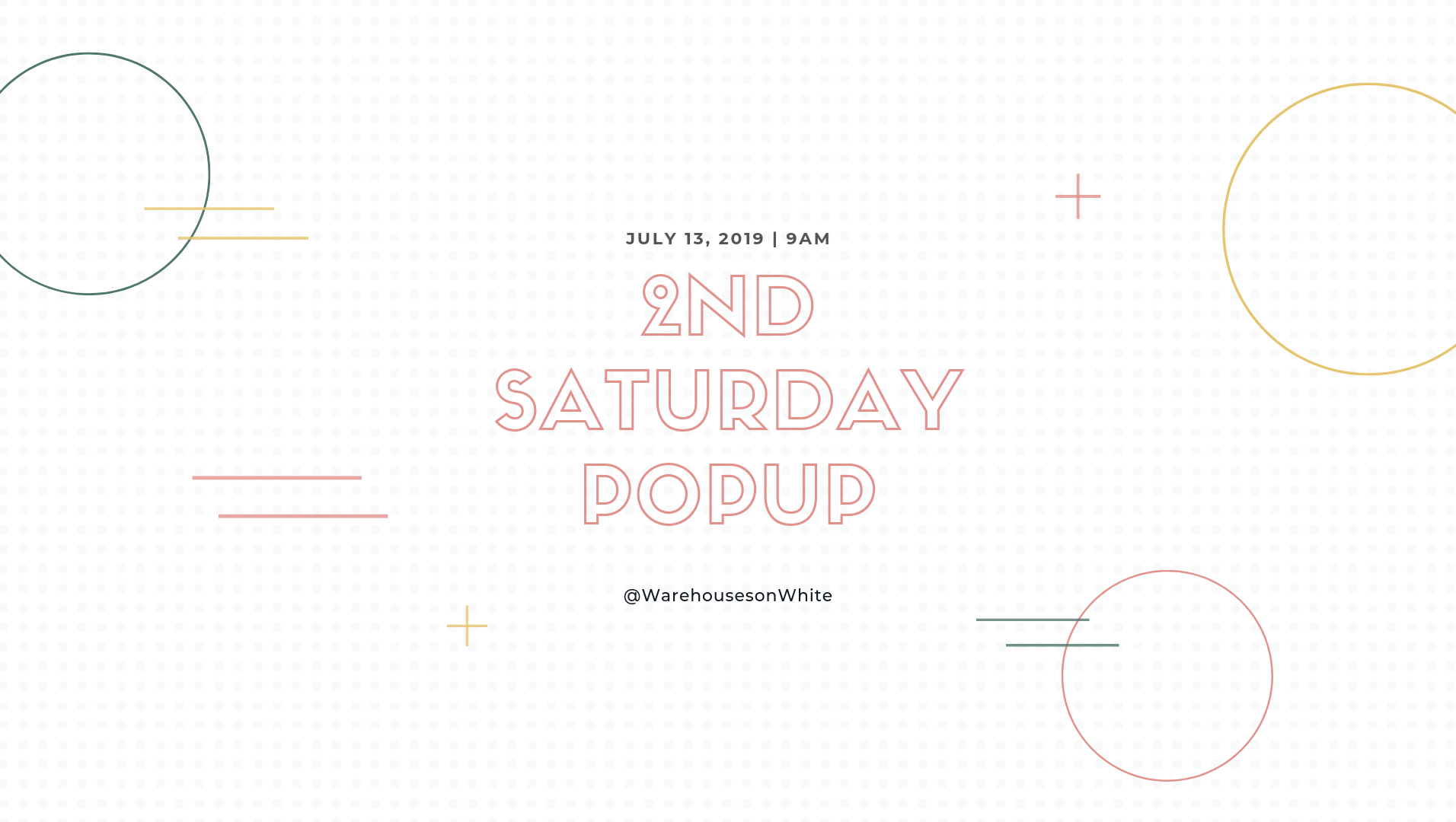 2nd saturday popup