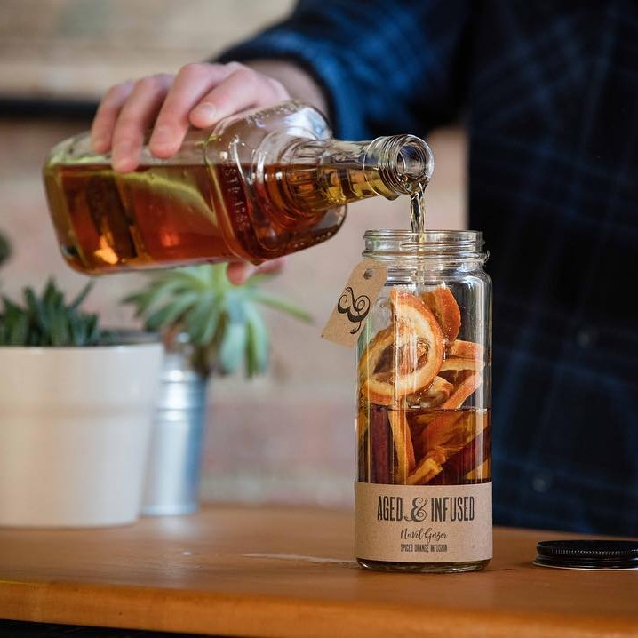 Aged & Infused Liquor Infuser -