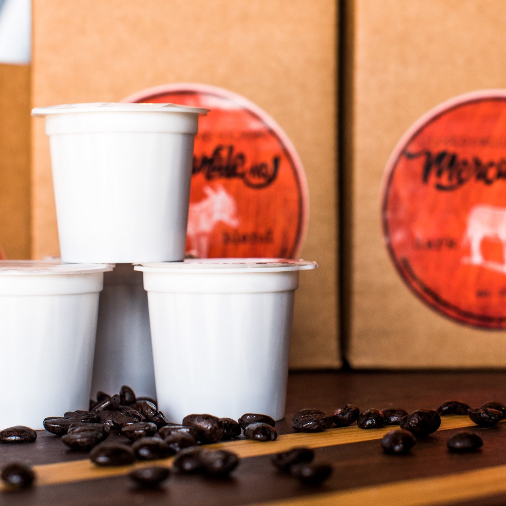 Dark A@$ Brew - Knowledge Perk Coffee made special for The Mercantile