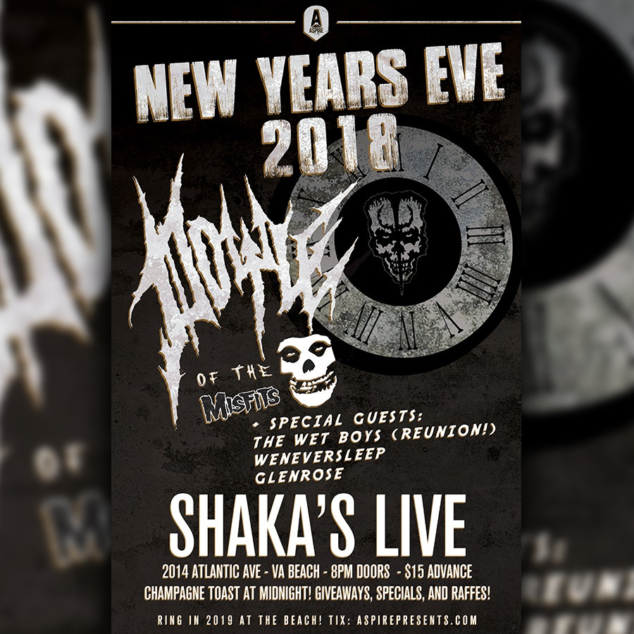 New Years Eve With DOYLE of the Misfits! at Shakas Live