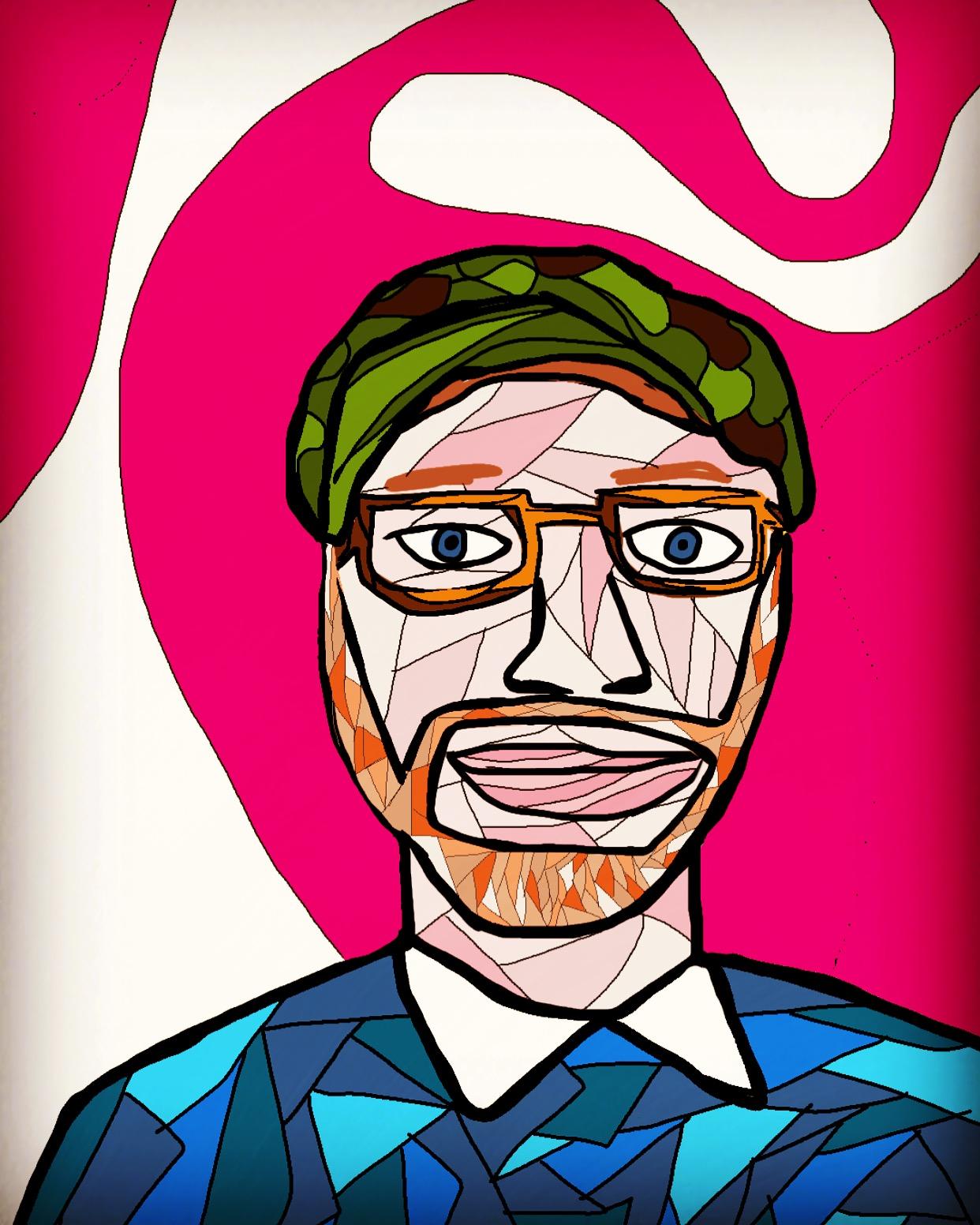 Dwight Easter - Artist, family man, bread merchant.