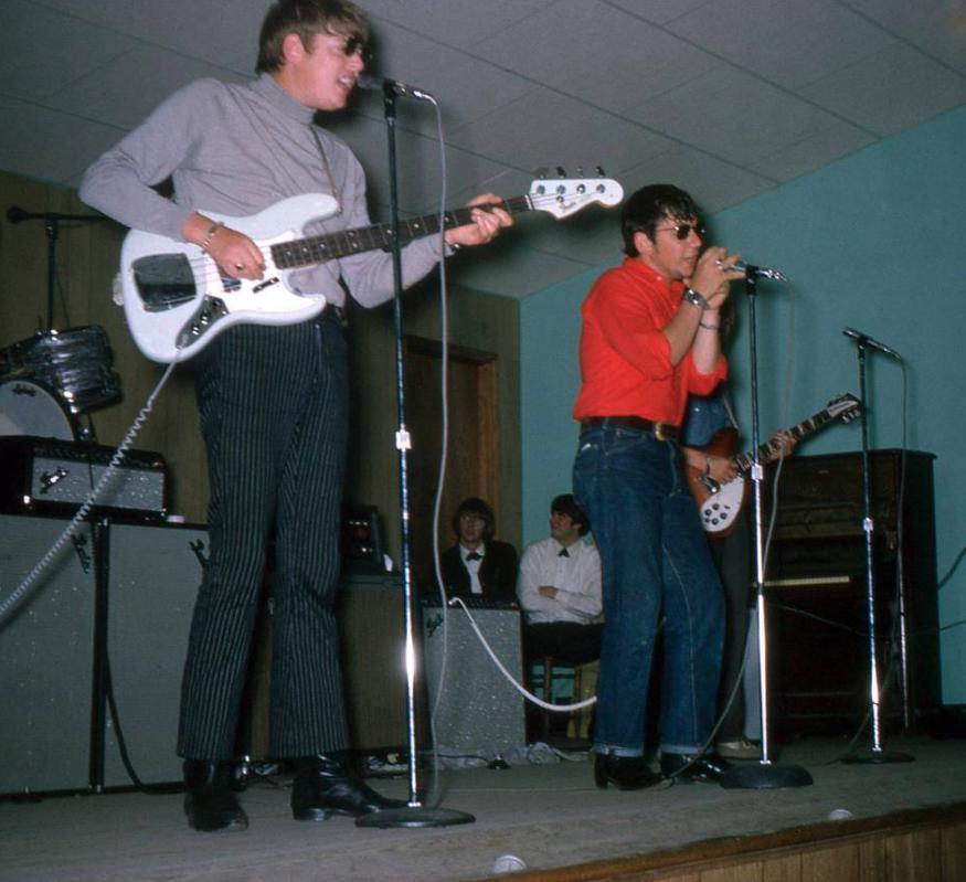 Picture from the April 24, 1966 Peninsula Auditorium, Hampton, VA show… in colorvision!
