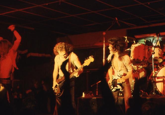 Picture of Van Halen at Rogues in VB, April 25, 1978