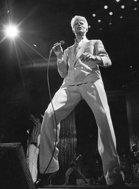 David Bowie - Scope, Norfolk, VA, Aug. 25, 1983 (Virginian-Pilot pic)