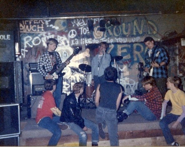 All ages show at Dominics, mid-80s