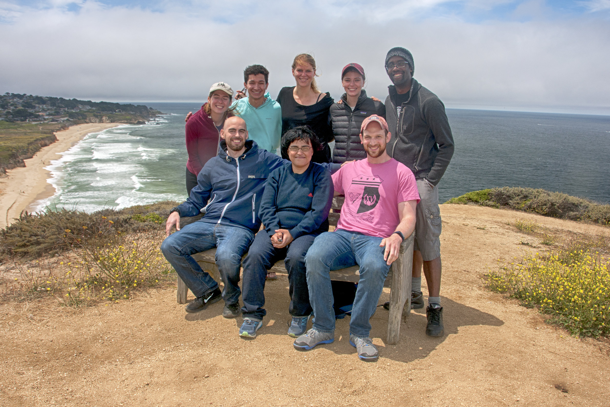 Lab retreat 2017 -- Half Moon Bay