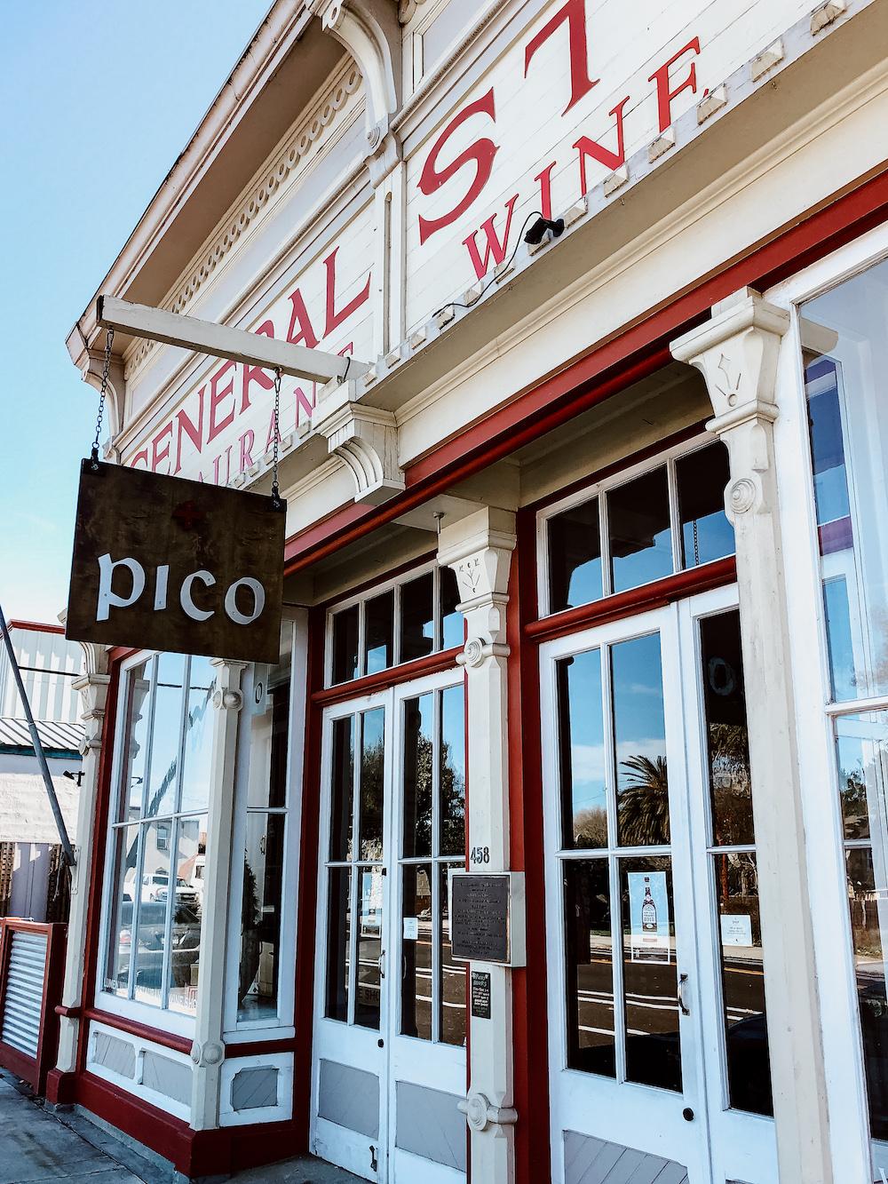 Pico Restaurant - Los Alamos, California   Cedar + Surf
