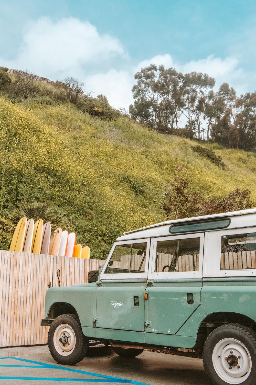 The Surfrider Malibu Hotel 1968 Range Rover | Cedar + Surf