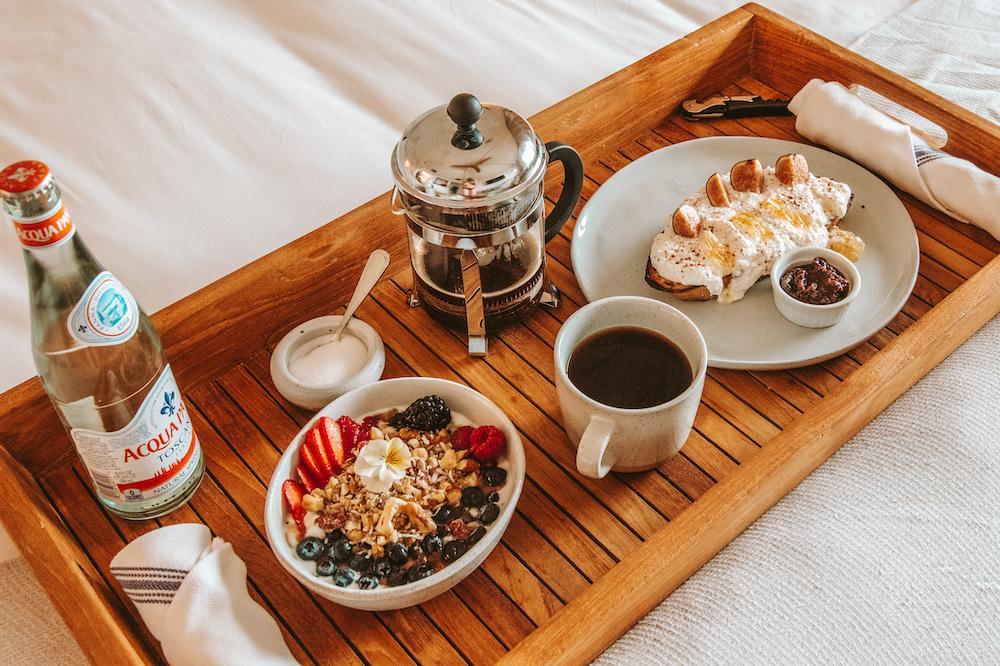 Room Service Breakfast - The Surfrider Malibu | Cedar + Surf