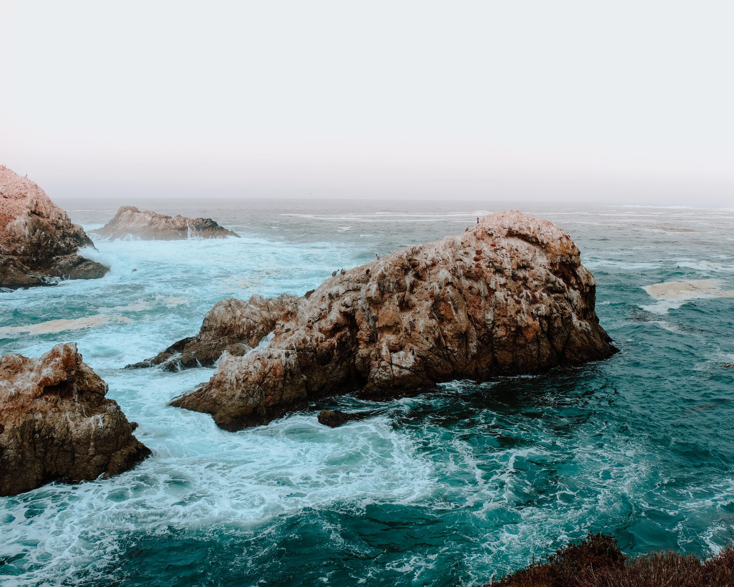 Pacific coast in Big Sur, California | Cedar + Surf