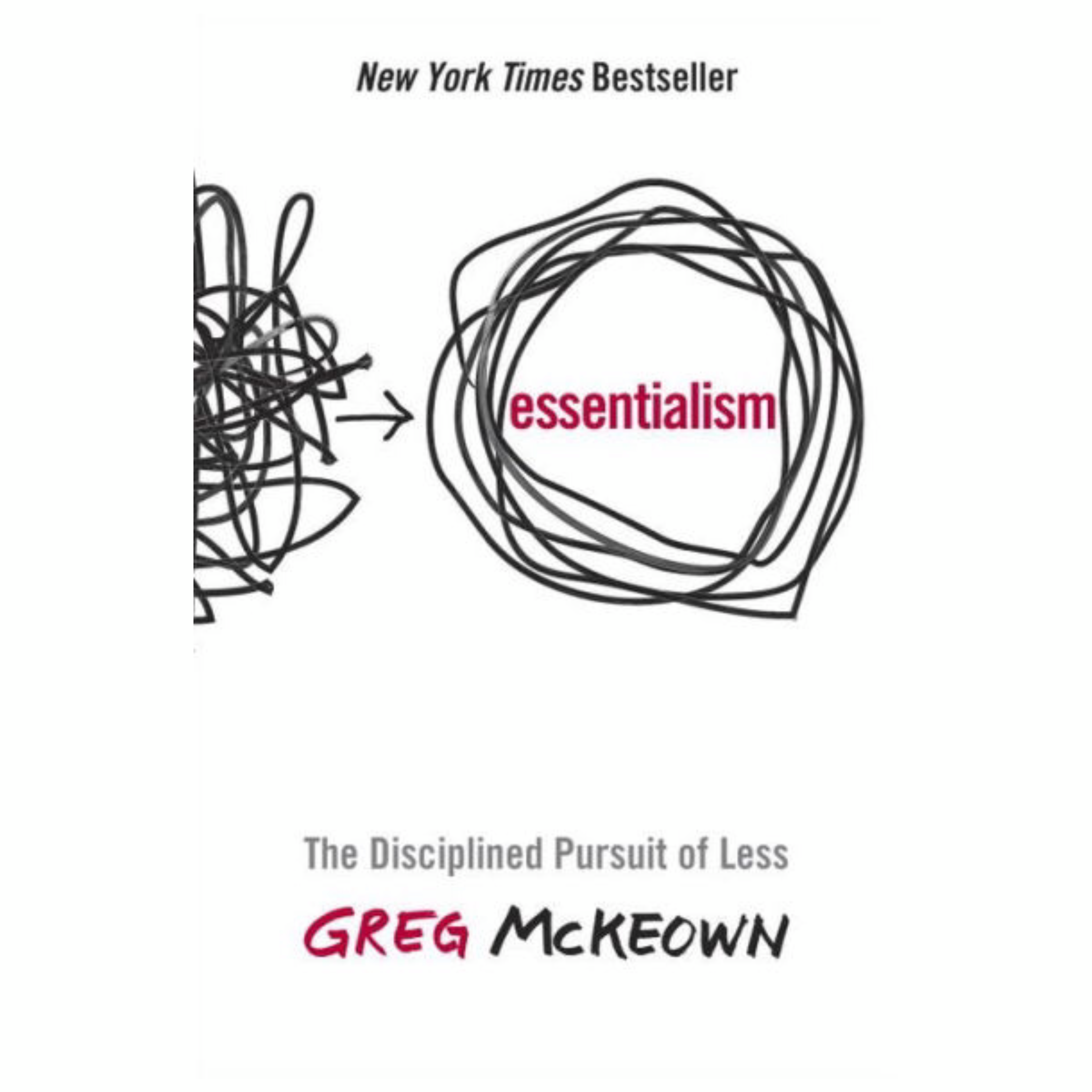 Essentialism: The Disciplined Pursuit of Less by Greg McKeown | Cedar + Surf Must Read List
