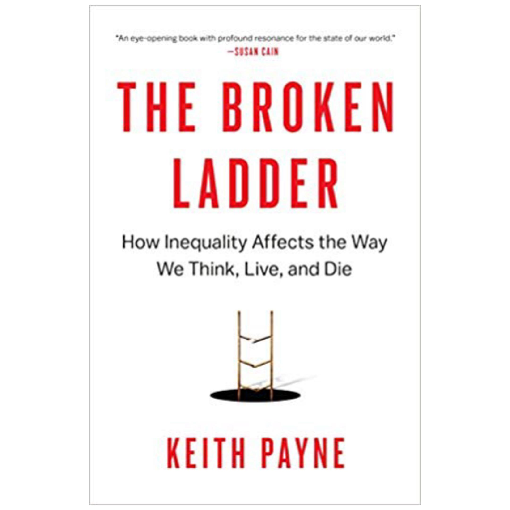 The Broken Ladder by Keith Payne    Cedar + Surf Must Read List