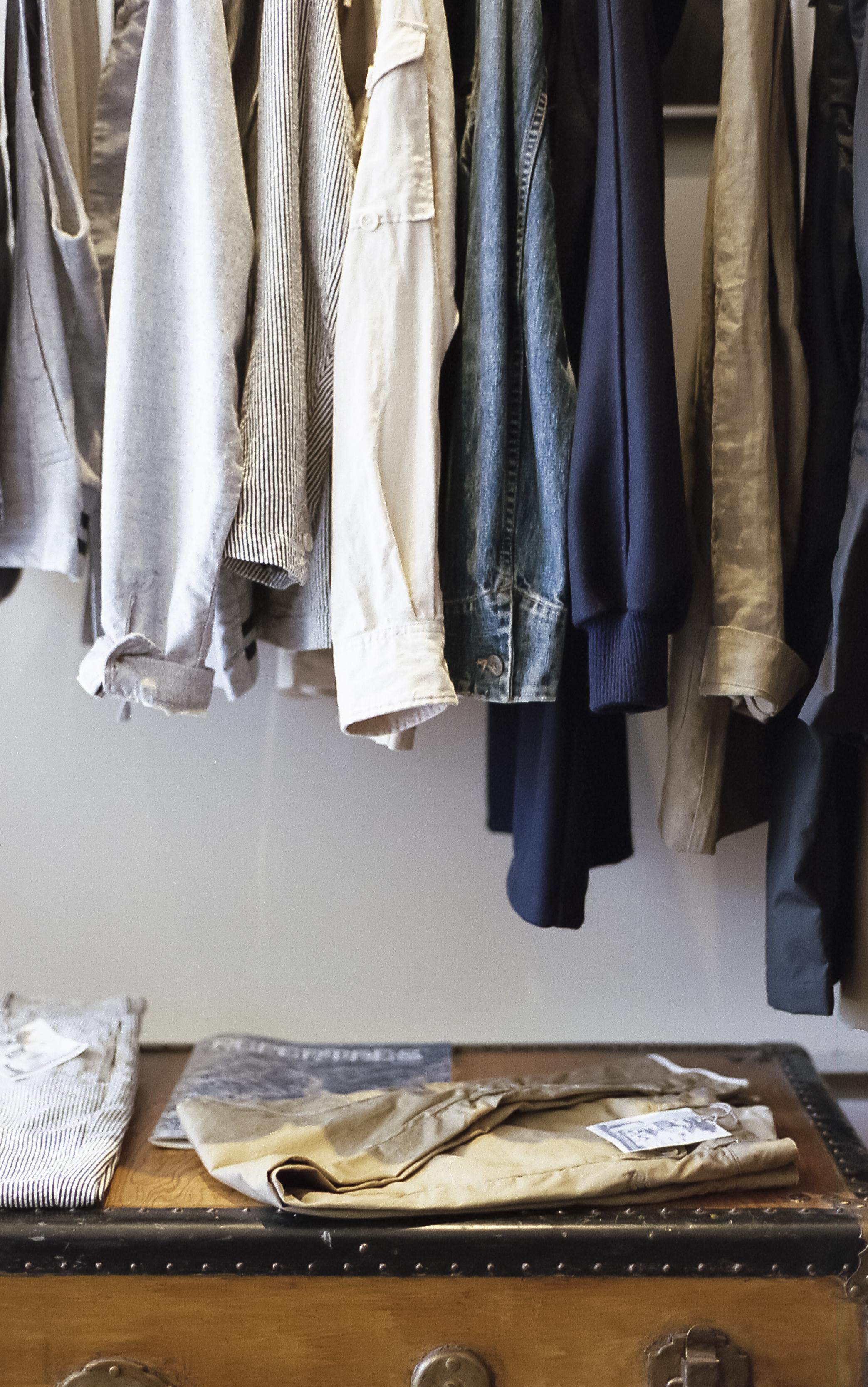 Minimalist closet goals | Cedar + Surf