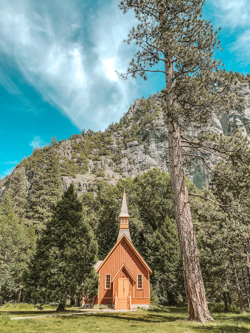 Yosemite Valley Chapel | Cedar + Surf