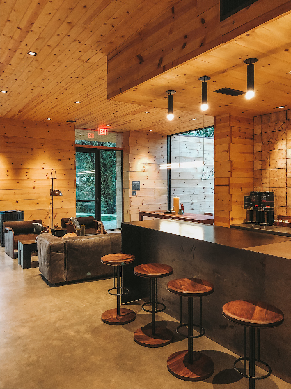 Autocamp Yosemite Happy Hour Bar | Cedar + Surf