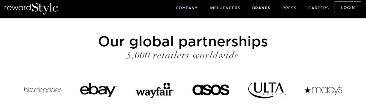 Reward style brand partnerships exclude smaller, more sustainable brands | Cedar + Surf