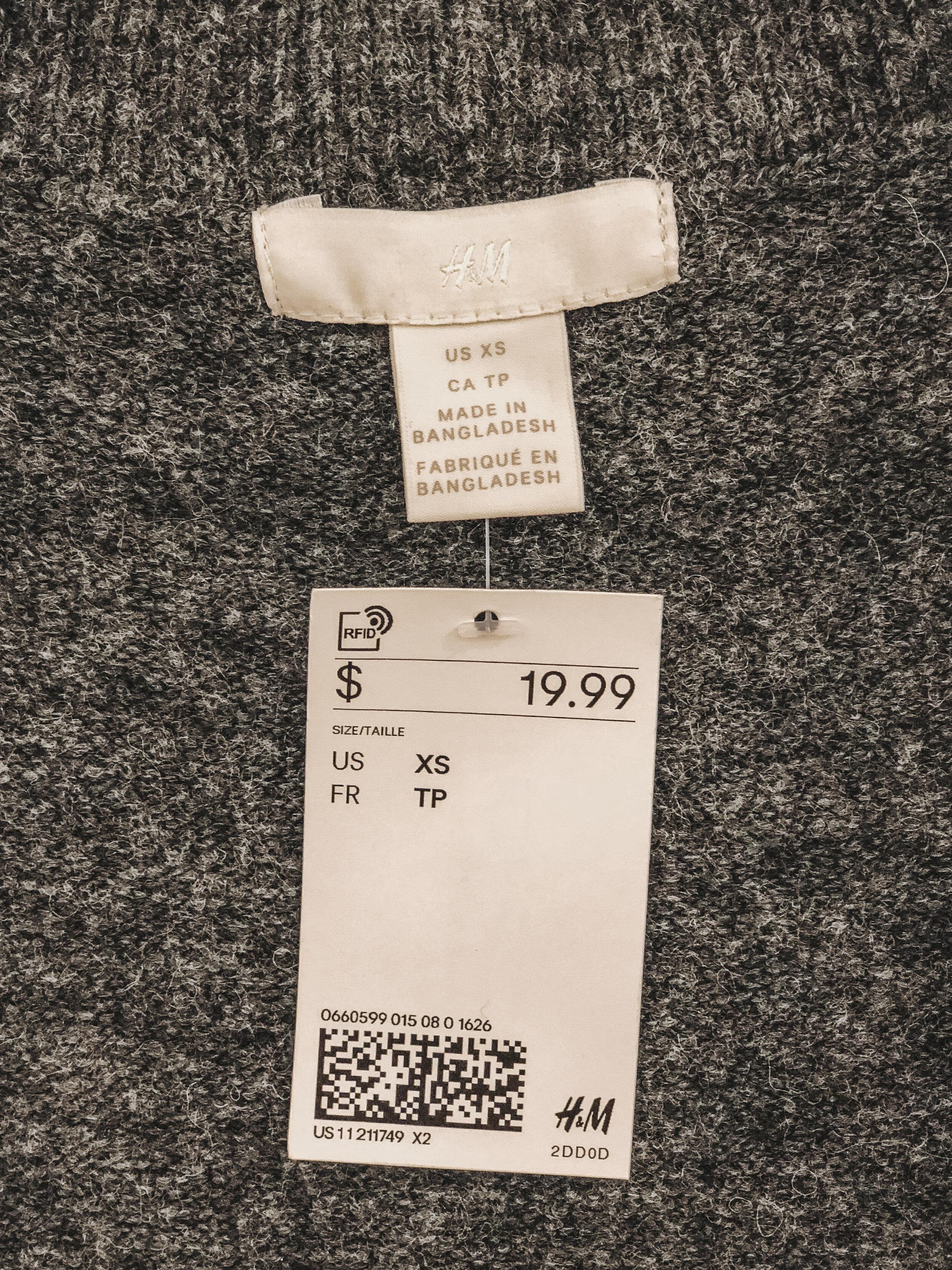 H&M Fast Fashion Sweater | Cedar + Surf