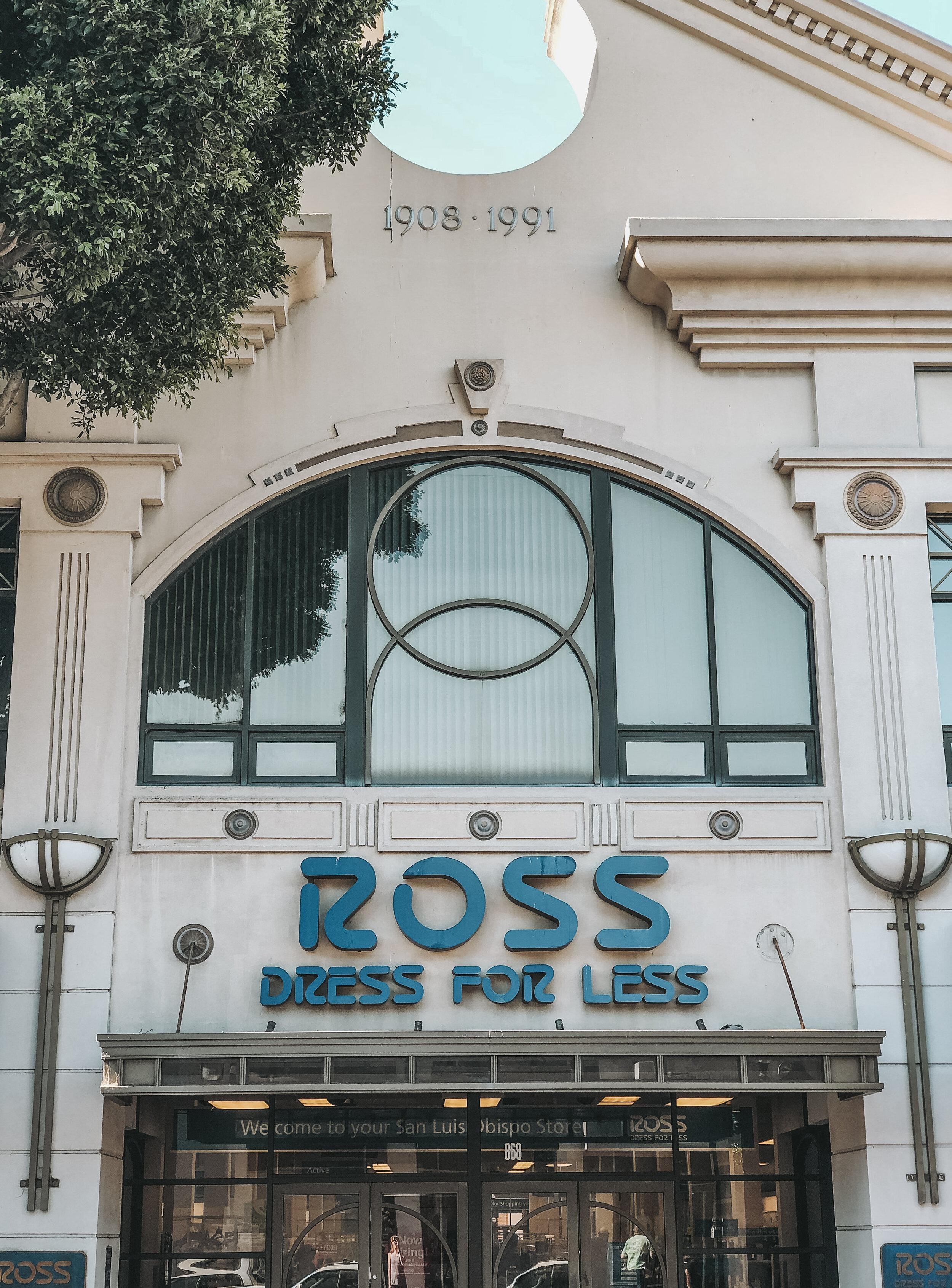 Ross Dress For Less, San Luis Obispo, California | Cedar + Surf
