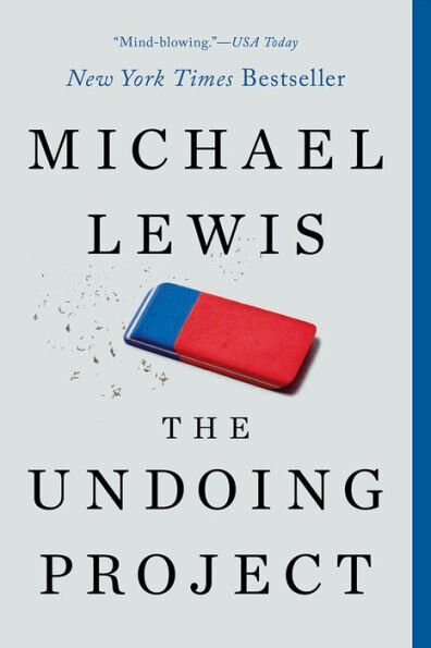 The Undoing Project by Michael Lewis | Cedar + Surf