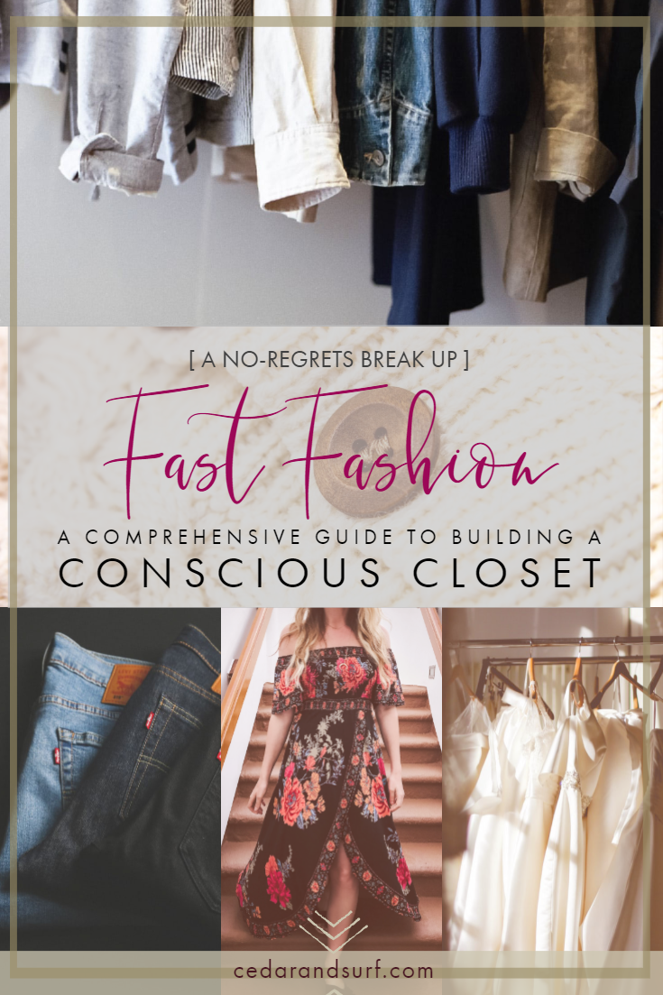 A comprehensive ethical fashion and sustainable style guide | Cedar + Surf